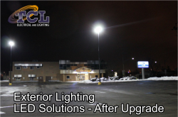Exterior Lighting Maintenance using LED Lighting Technology will save your Commercial Lighting dollars