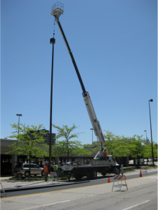 Parking Lot Lighting Maintenance Services
