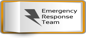Emergency Response Team waiting for you to fill out the information so we can get right on your Emergency.