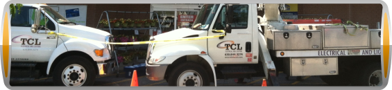 TCL Electrical and Lighting Maintenance Services has the right Equipment to get the job done