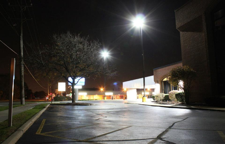 electrical and lighting maintenance services for parking lot and exterior lighting and